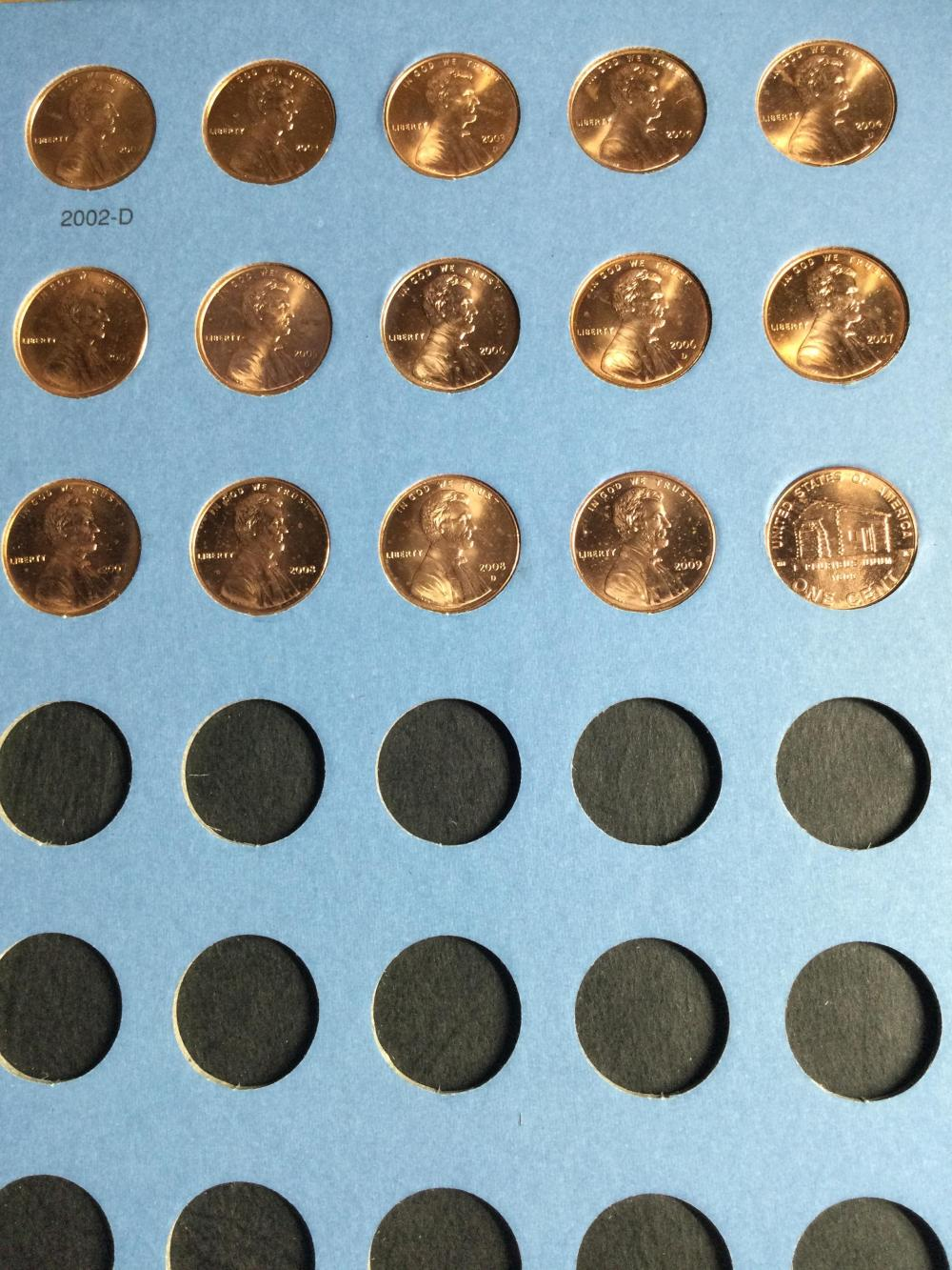2 Lincoln Cents Albums