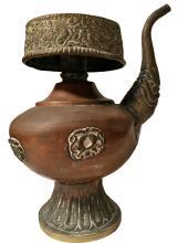 ANTIQUE COPPER TIBETAN MILK TEA POT