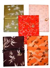 LOT OF 5 PURE SILK JOURNAL