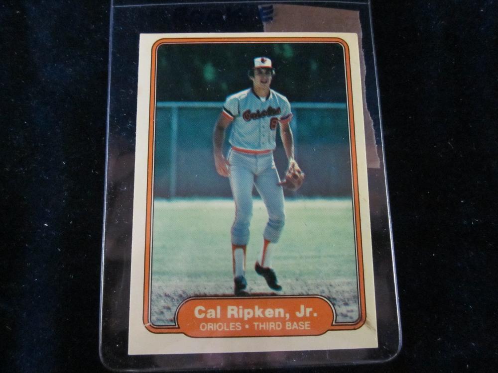 1982 Fleer Cal Ripken Jr Rookie Card