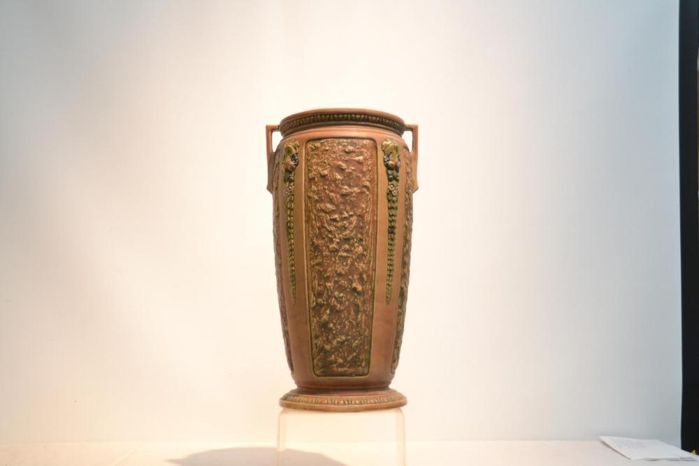 Lot Large Roseville Florentine Floor Vase