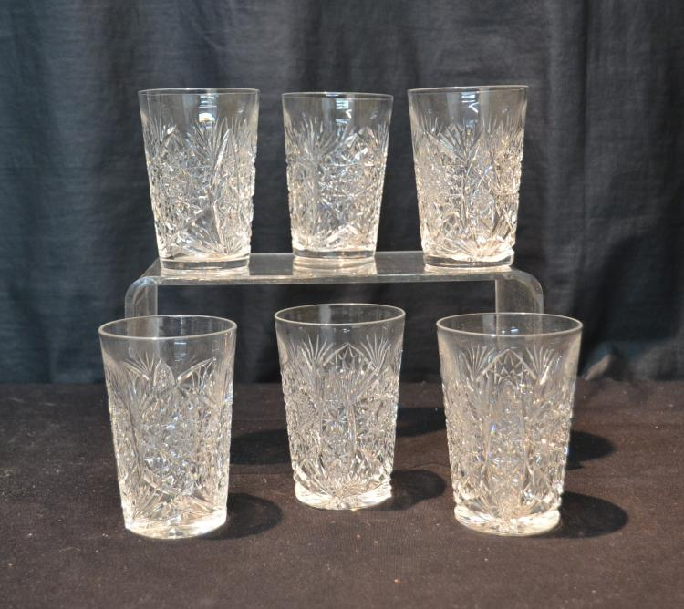 6 antique cut glass glasses 3 x 4 1 4 How can i cut glass at home