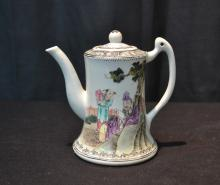 CHINESE PORCELAIN PITCHER - 5 1/4