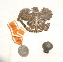 (3)pc GERMAN MILITARY LOT INCLUDING