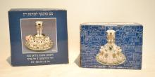 (2) KARSHI ORIGINAL JUDAICA WINE FOUNTAIN SERVERS