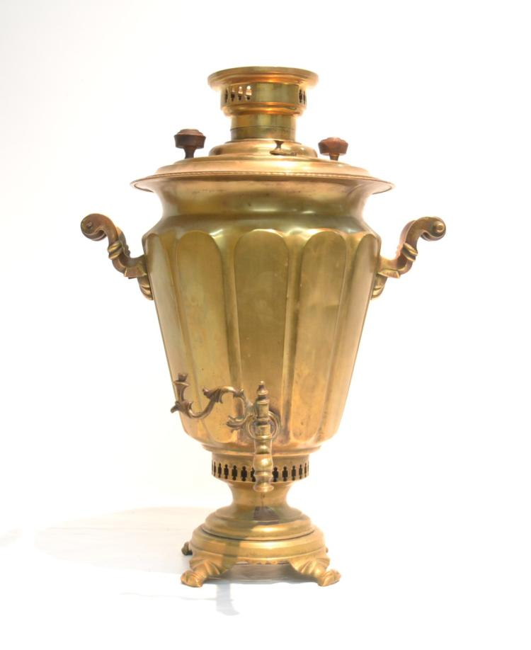RUSSIAN SAMOVAR - 16 1/2