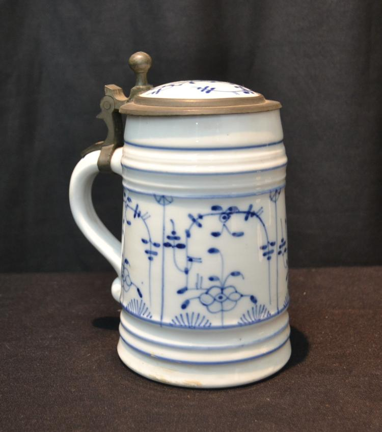 GERMAN BLUE & WHITE STEIN - 5