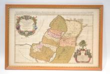 1696 CORDIER MAP OF ISRAEL - 28