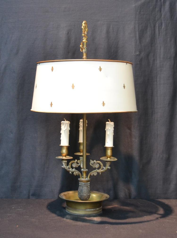 BRONZE BOULLIOTTE LAMP - 8