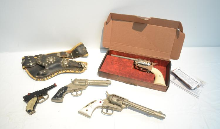 COLT PEACEMAKER CO2 AIR GUN & VINTAGE BB GUNS