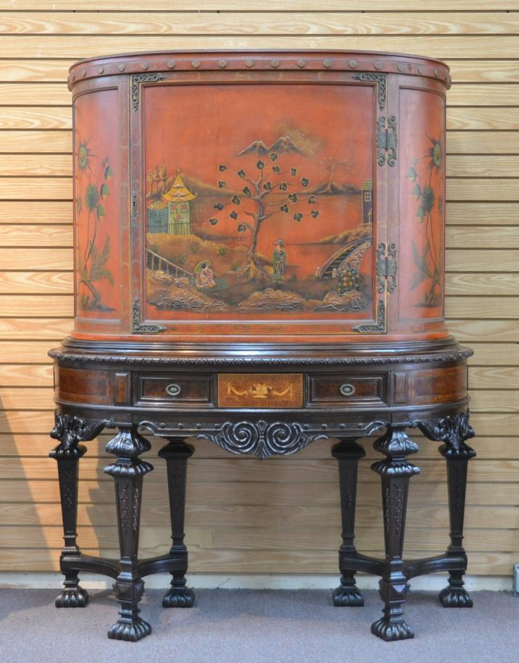 ROCKFORD FURNITURE Co. CHINOISERIE SILVER CHEST