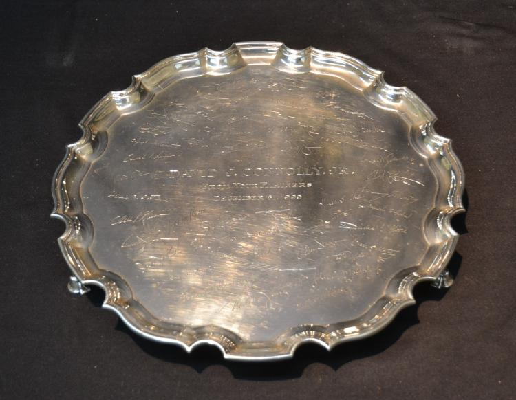 STERLING TIFFANY MAKERS PRESENTATION TRAY