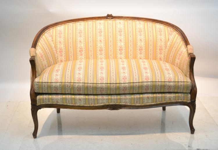 LXV STYLE UPHOLSTERED SETTEE