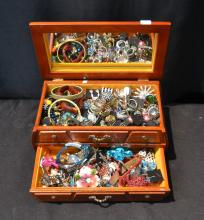 COSTUME JEWELRY , BRACELETS , RINGS, PINS &