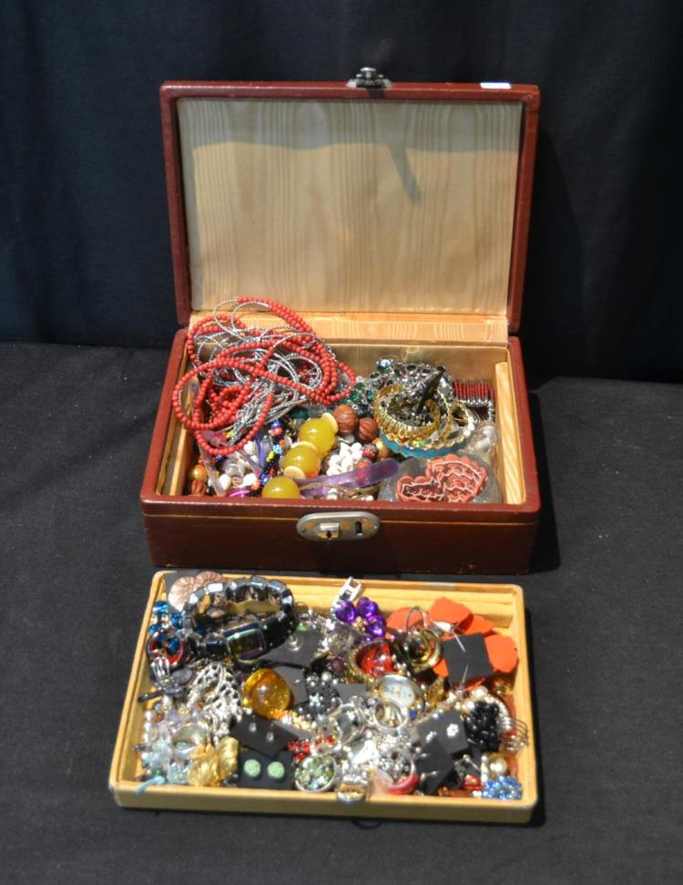 COSTUME JEWELRY INCLUDING CORO , STERLING ,