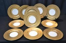 (11) HEINRICH BAVARIA SERVICE PLATES WITH HEAVY