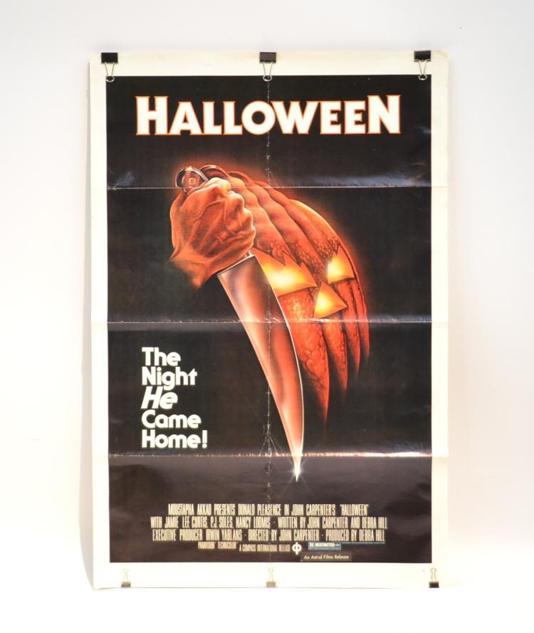 original halloween 1978 movie poster
