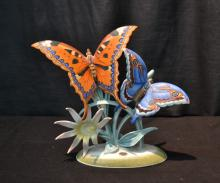 ROSENTHAL PORCELAIN BUTTERFLY GROUPING
