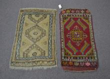 (2) 1940's TURKISH RUGS