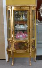 HAND PAINTED GILT VERNIS MARTIN STYLE CURIO