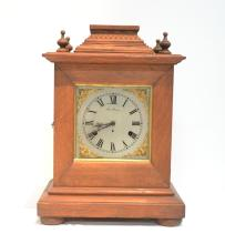 OAK NEW HAVEN CHIME CLOCK No. 3
