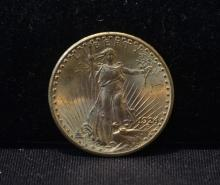 1924 $20 STANDING LIBERTY GOLD COIN