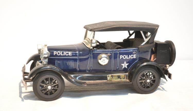 1928 MODEL A JIM BEAM POLICE CAR DECANTER