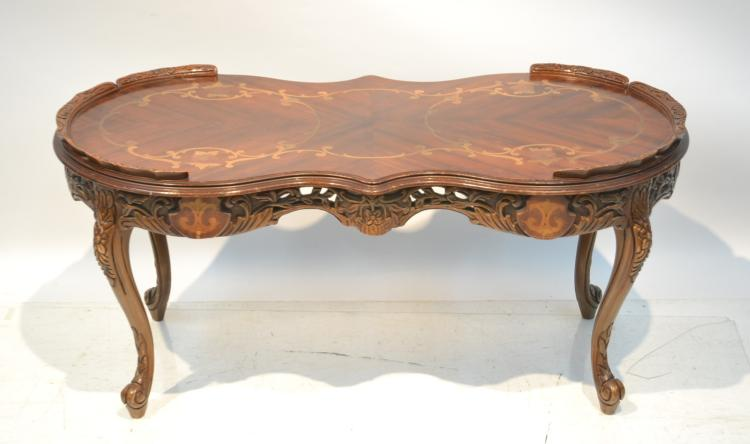 INLAID COFFEE TABLE - 38
