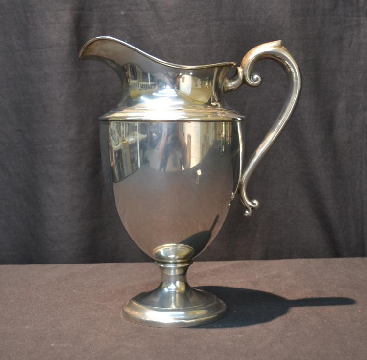 PS & C STERLING SILVER PITCHER