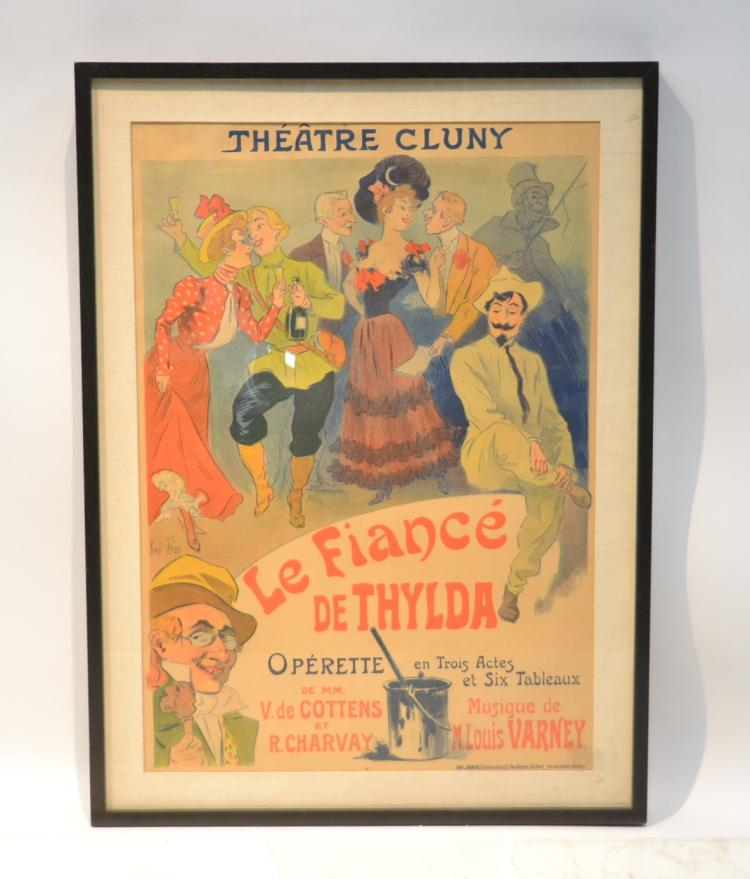 RENE PEAN , FRENCH THEATRE CLUNY