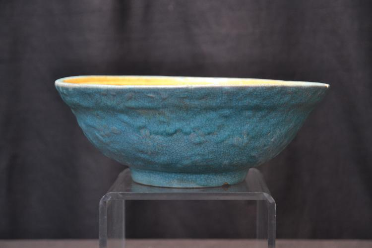 CHINESE POTTERY BOWL - 9