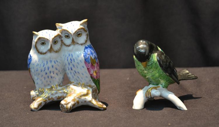 VISTA ALERGE , PORTGUAL BIRDS ON BRANCH & OWLS