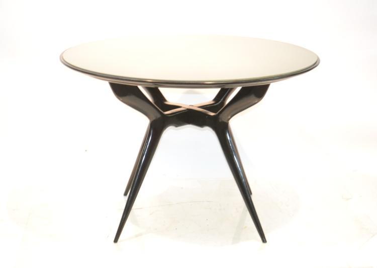 ICO PARISI STYLE , 1950's ROUND ITALIAN TABLE