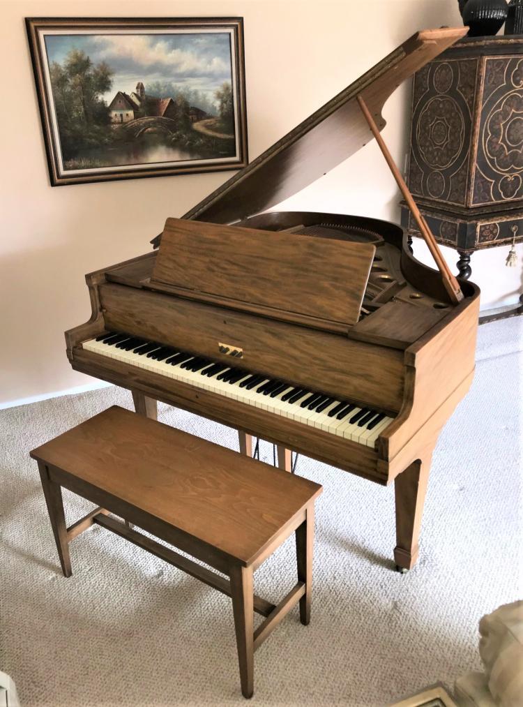 ACOUSTIGRANDE , CHICKERING Bros. BABY GRAND PIANO