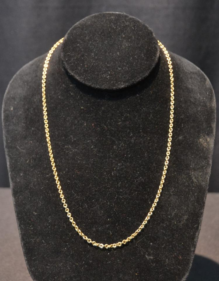 14kt GOLD CHAIN - 5.56grams ; 19