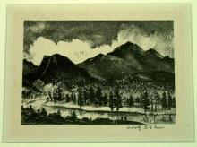 Dehn, Adolf. TWILIGHT IN THE ROCKIES