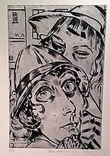 Ackermann, Max (German, 1887-1975). DIE SCHAUSPIELERIN HILDE KORBER