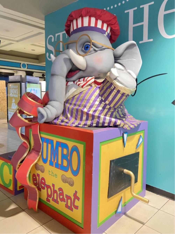 Huge 9.5ft Jumbo The Elephant Display