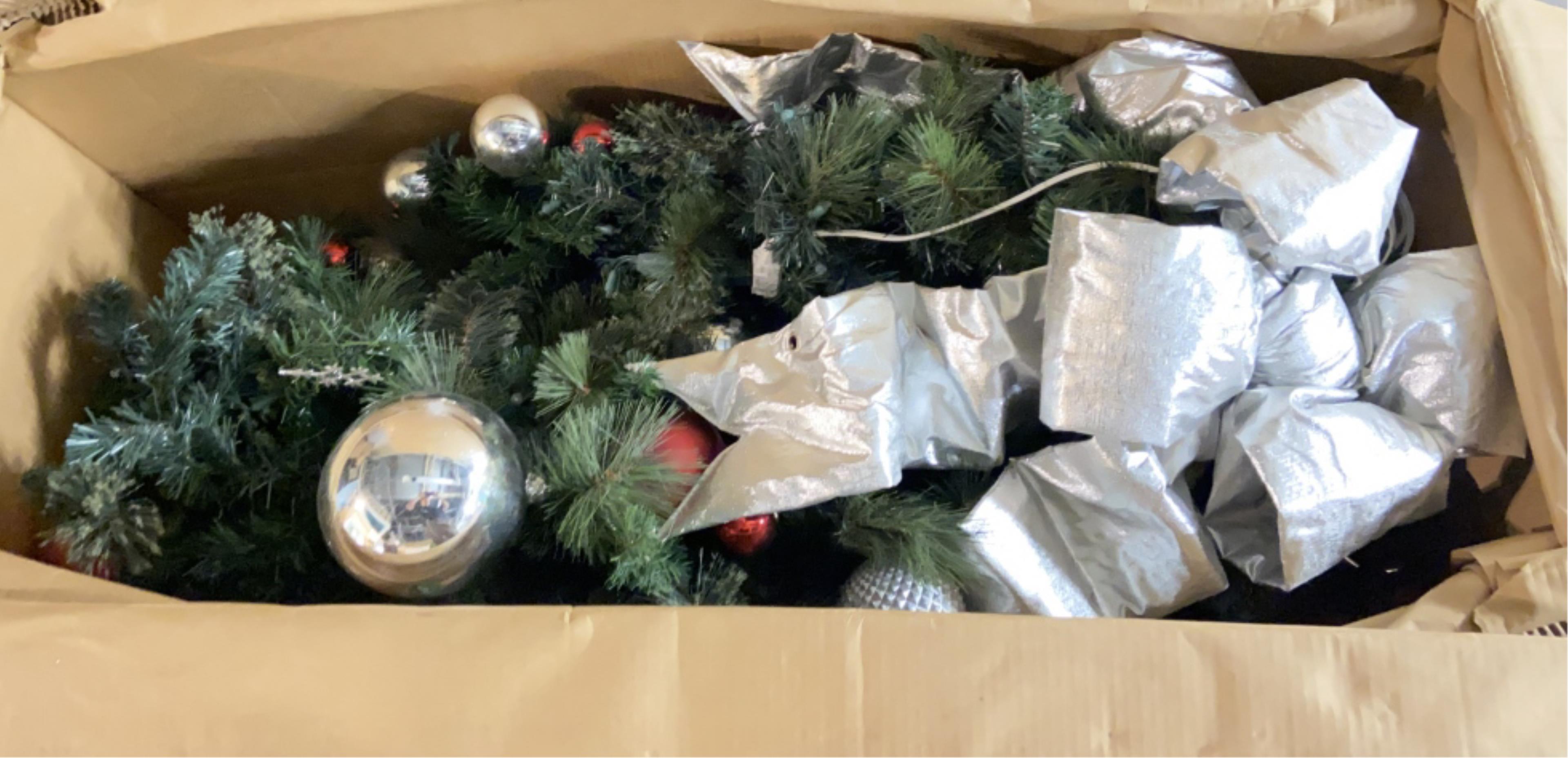 Huge Assortment Of Christmas Garland Decor