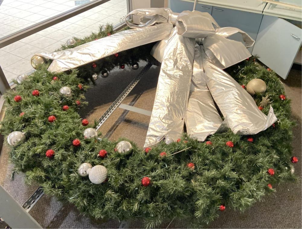 Huge Oversized Christmas Wreath