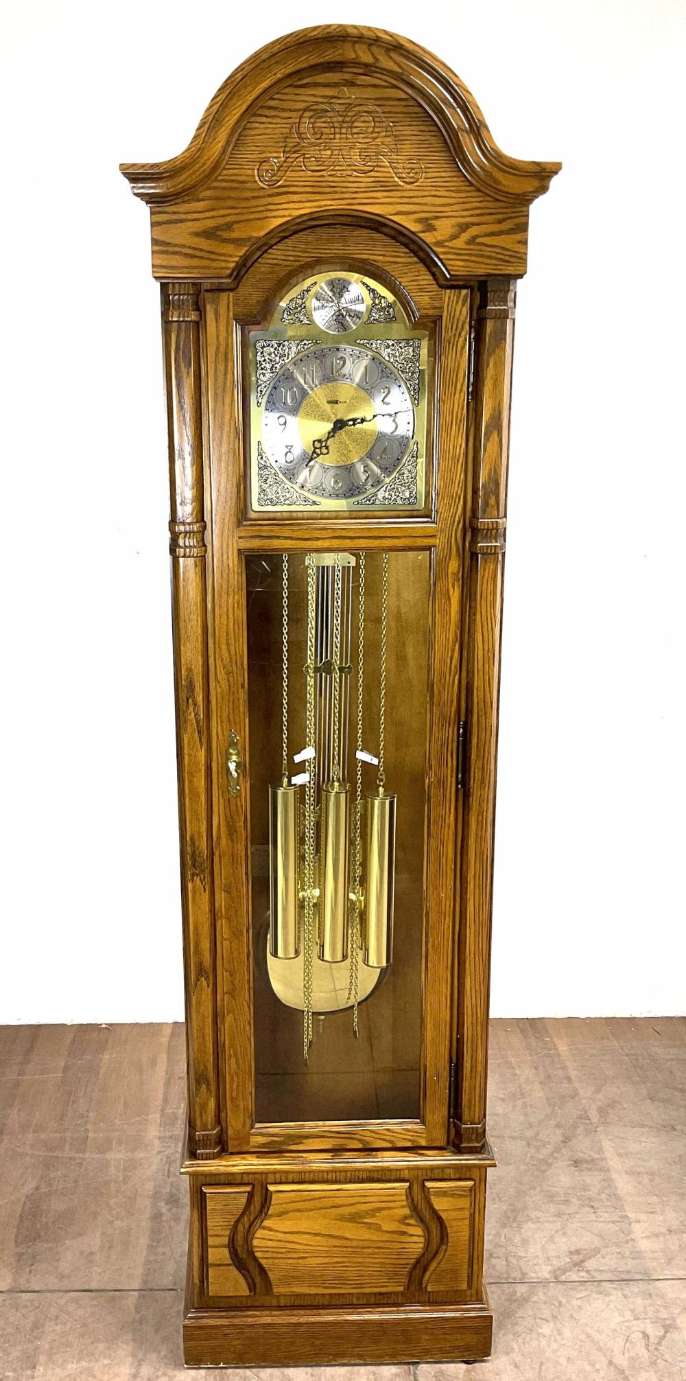Howard Miller Traditional Oak Grandfather Clock