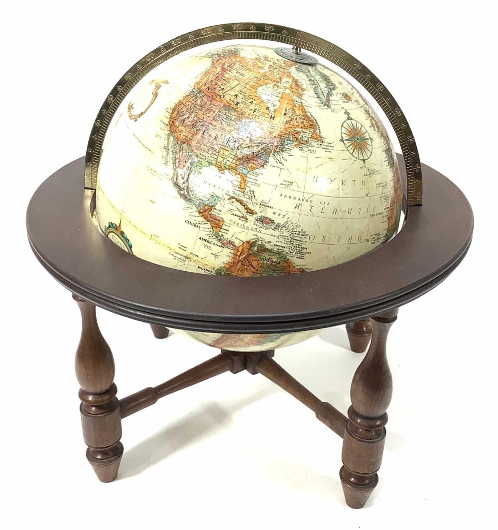 Replogle World Classic 12in Globe With Base