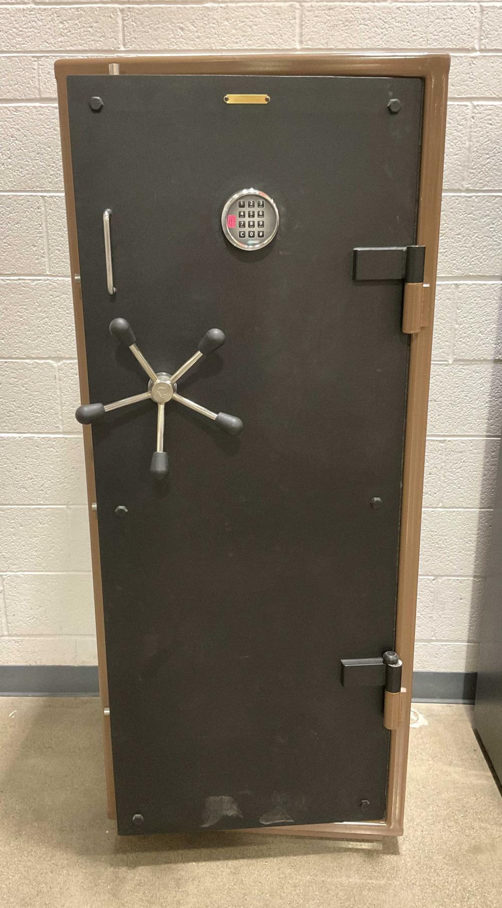 Custom Hand Crafted Steel Digital Safe