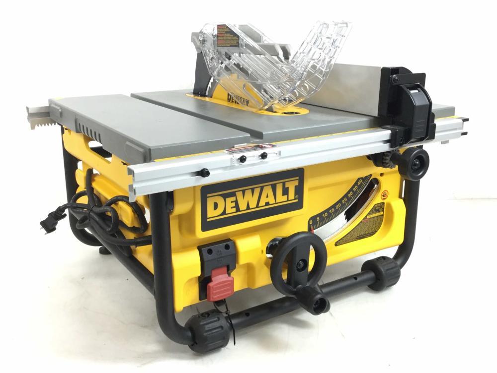 Dewalt Compact Jobsite 10in Table Saw