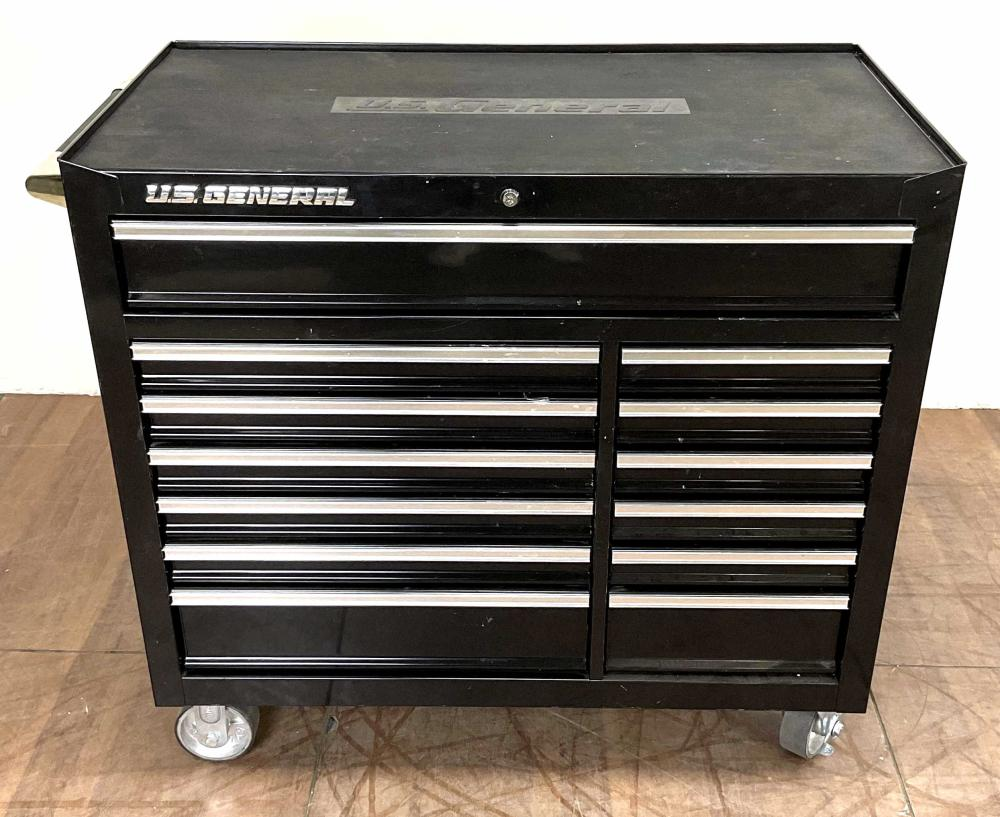 Us General Double Bank Toolbox / Cabinet