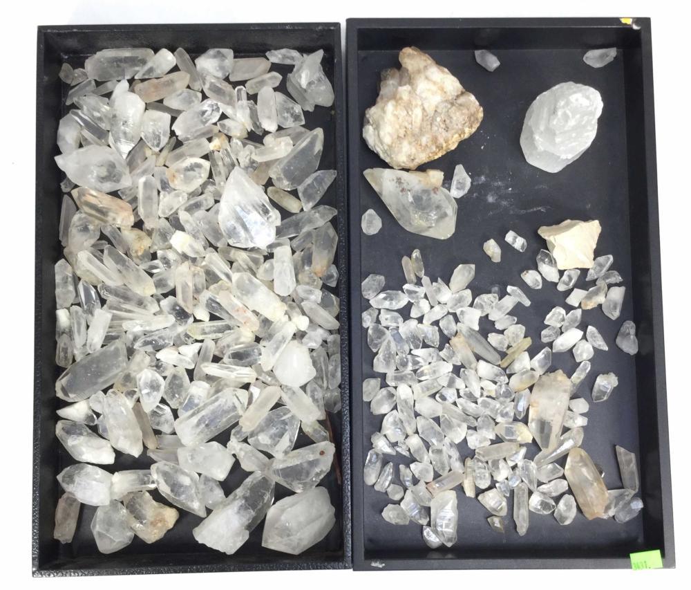 Assorted Quartz Mineral Rocks