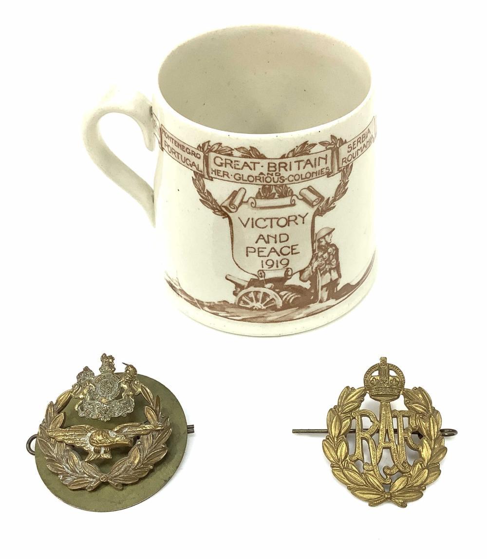 Royal Doulton Great Britain Coffee Mug, Badges