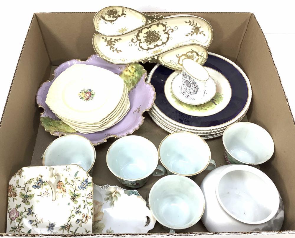 Vintage Servingware, Rs Prussia, European, Royal