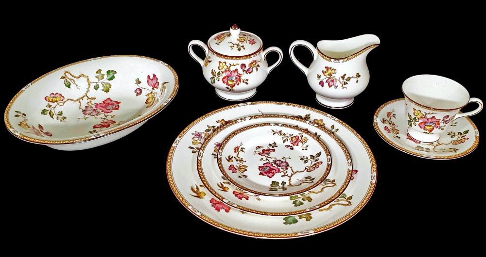 Wedgewood Plates, Bowls & Teacup Sets