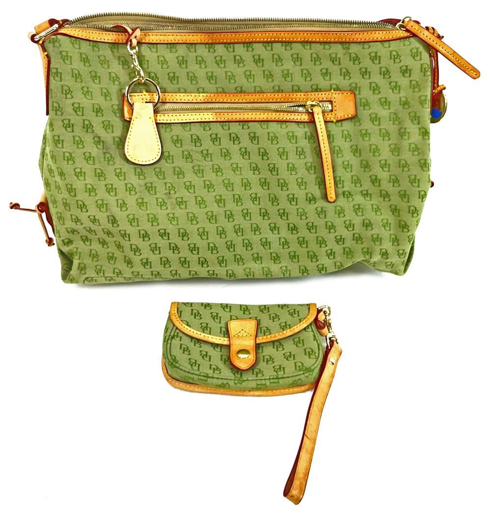 (2pc) Dooney & Bourke Handbag & Coin Purse